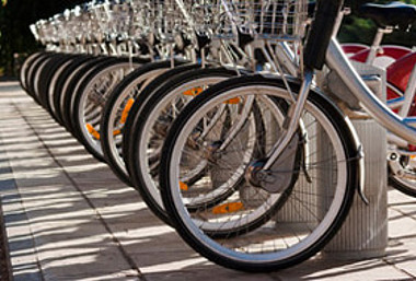 Radfahren schont das Klima und die Umwelt.